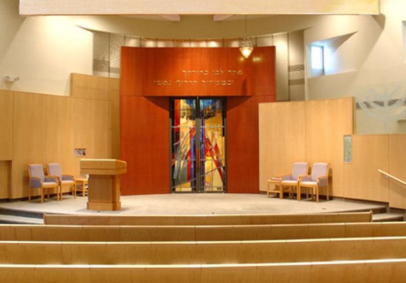 B'nai Shalom Synagogue 'Ark Doors'