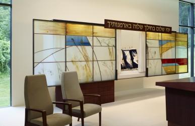 Kol Shalom: Ark, open (photo credit: Alan Karchmer)